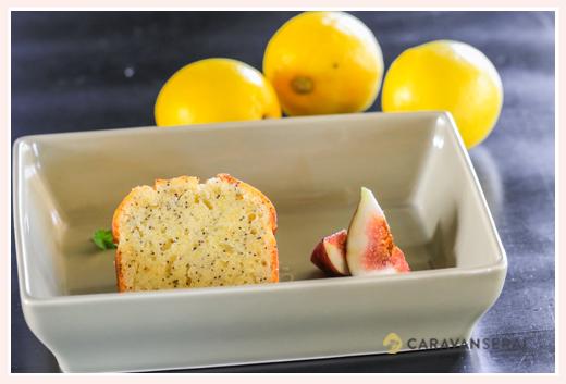 黒猫とほうき@Tane Cafe 焼菓子 野菜のケーキ  レモン