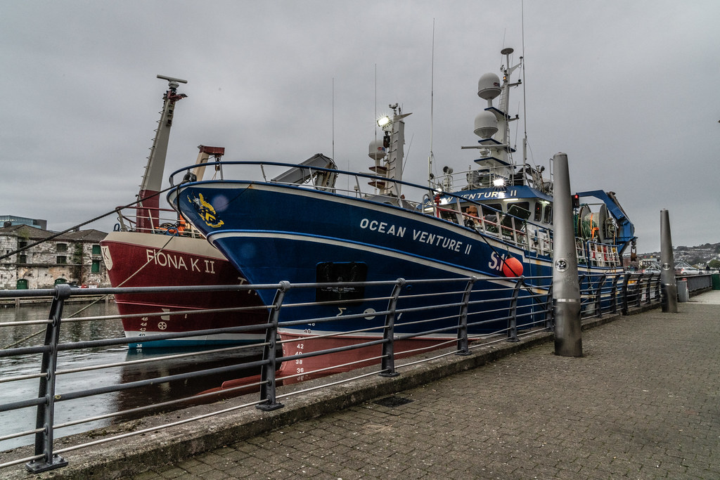 TWO TRAWLERS DOCKED AT PENROSE QUAY IN CORK 006
