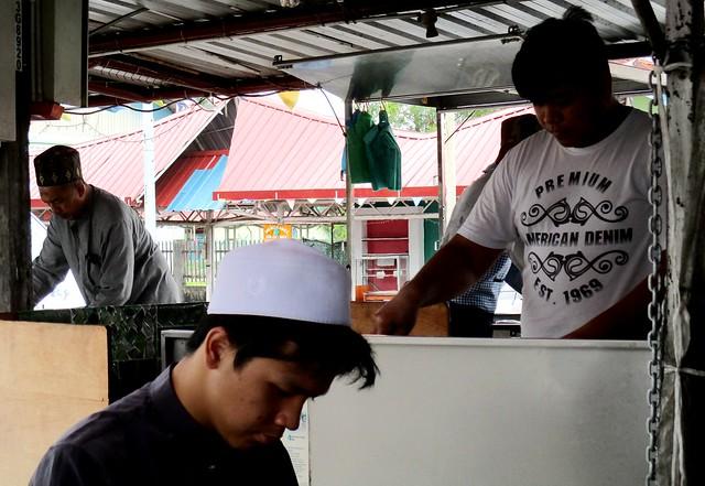 Bandong Walk roti canai stall