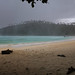 Torrential rain bounced hard on Siam bay