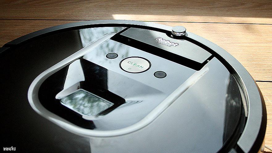 diseño de la Roomba 980 de iRobot