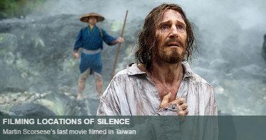 Where was Silence filmed