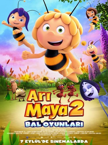 Arı Maya 2: Bal Oyunları - Maya the Bee: The Honey Games (2018)