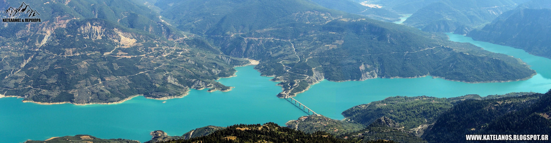 ψηλοβραχος αιτωλοακαρνανιας επισκοπη ευρυτανιας λιμνη κρεμαστων πανοραμα
