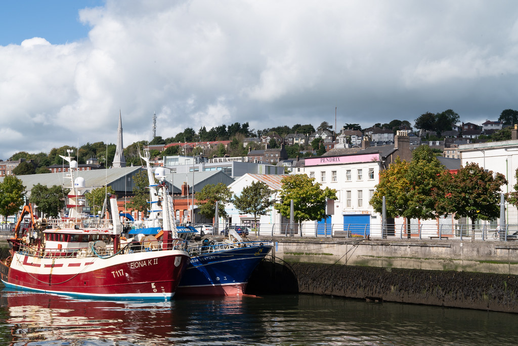 TWO TRAWLERS DOCKED AT PENROSE QUAY IN CORK 001