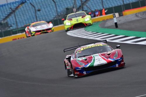 James Calado - Alessandro Pier Guidi, Ferrari 488 GTE EVO, FIA World Endurance Championship, Silverstone 2018