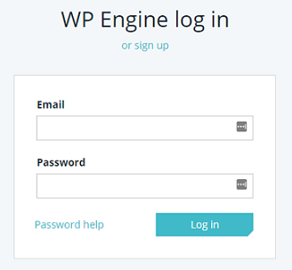 WordPress blog WP Engine