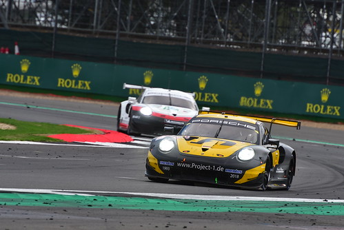 Jörg Bergmeister - Patrick Lindsey - Egidio Perfetti, Porsche 911 RSR, FIA World Endurance Championship, Silverstone 2018