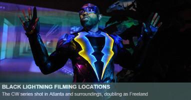 Where is black lightning filmed