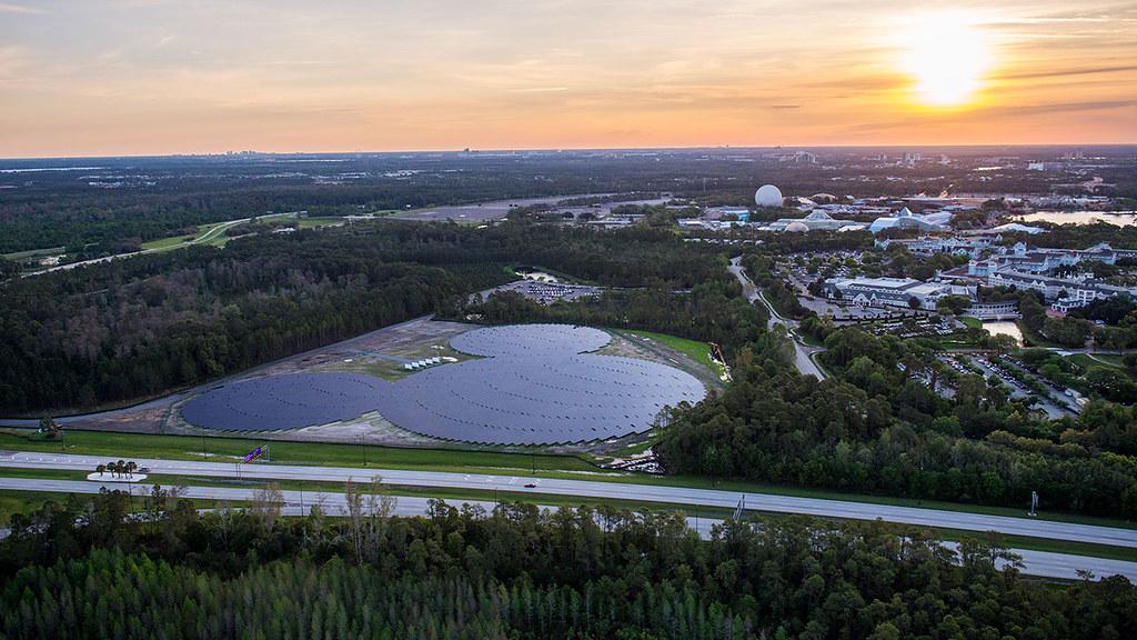 地表最大的「米奇」造型太陽能電站,曾是一時熱門話題。