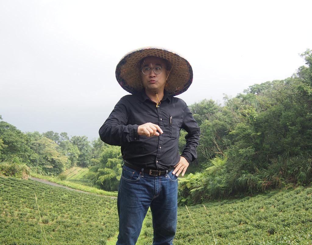 藍鵲茶創辦人黃柏鈞。攝影:陳宣竹