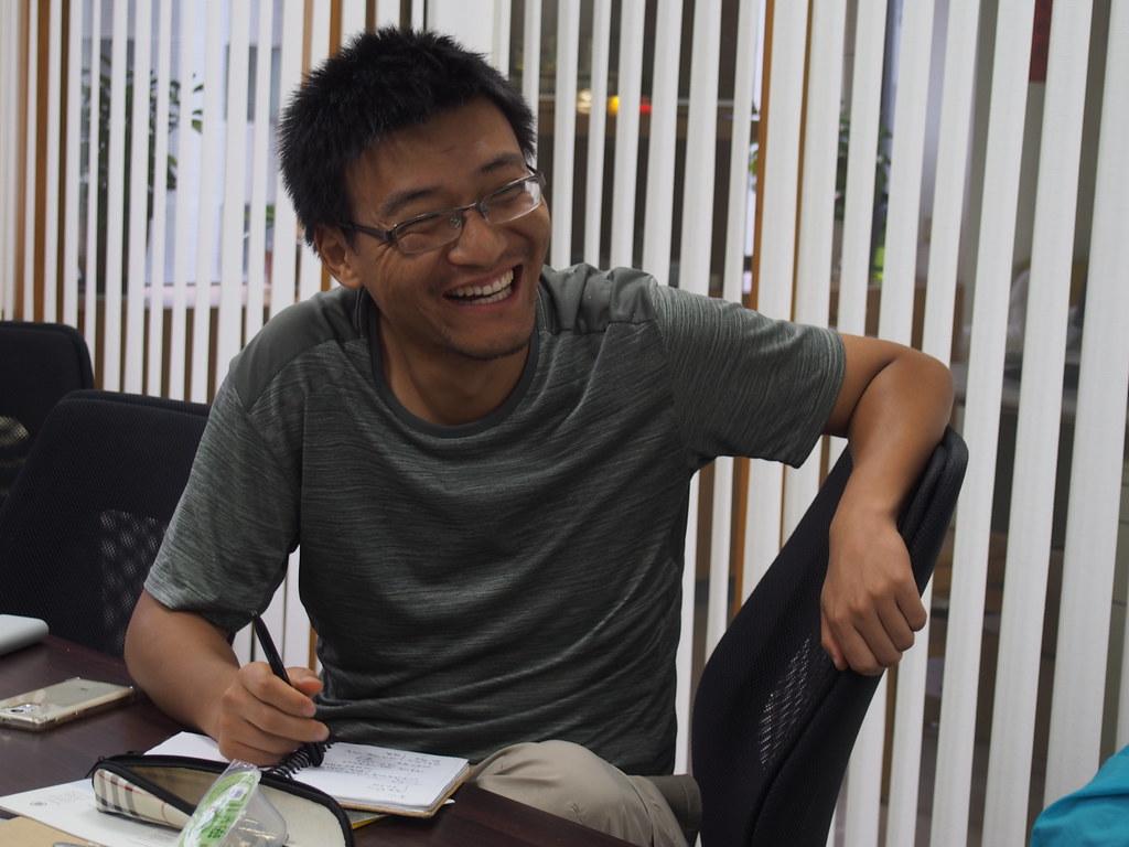 綠駝鈴環境發展中心創辦人趙中。攝影:陳宣竹