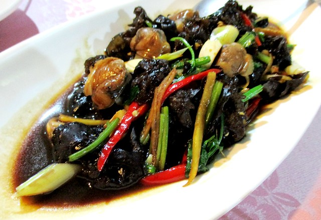 Flavours stir-fried lokan