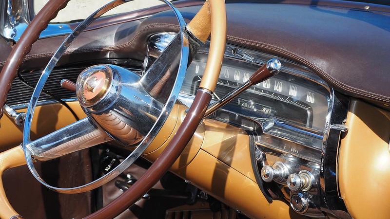 Cadillac série 62 cabriolet 1955 ex Fabiola et Baudouin  30557069808_bf6383f8c6_c