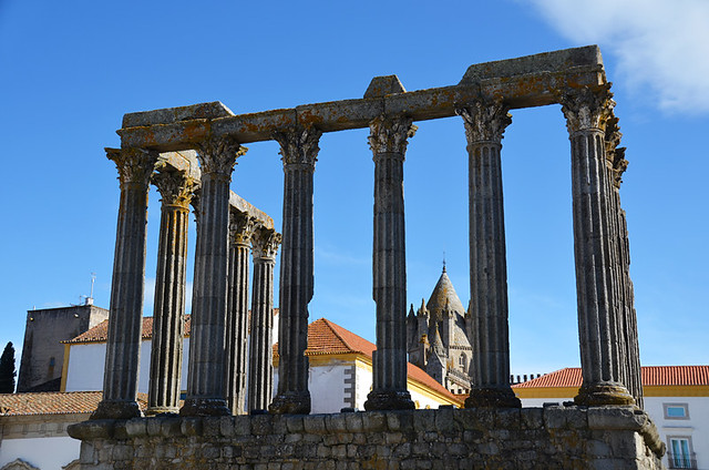 Temple of Diana, Evora, Portugal