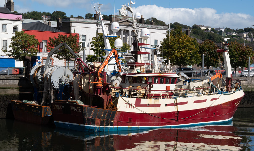 TWO TRAWLERS DOCKED AT PENROSE QUAY IN CORK 004