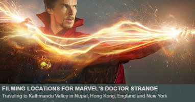 Where was Doctor Strange filmed