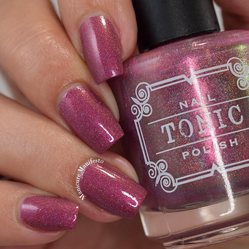 Tonic Polish Poison Rose swatch