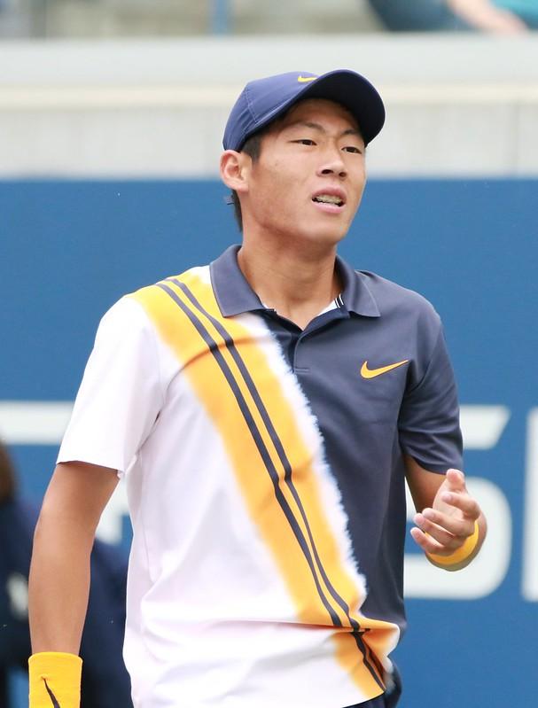 我國網球好手曾俊欣青奧男單8強止步。(資料照,四維體育推廣教育基金會提供)