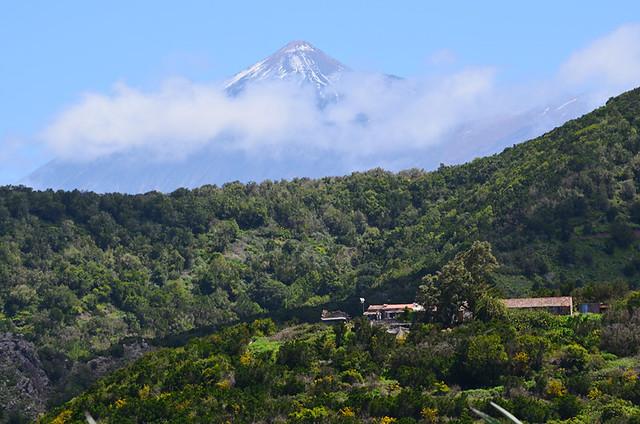 Teide from Teno, Tenerife