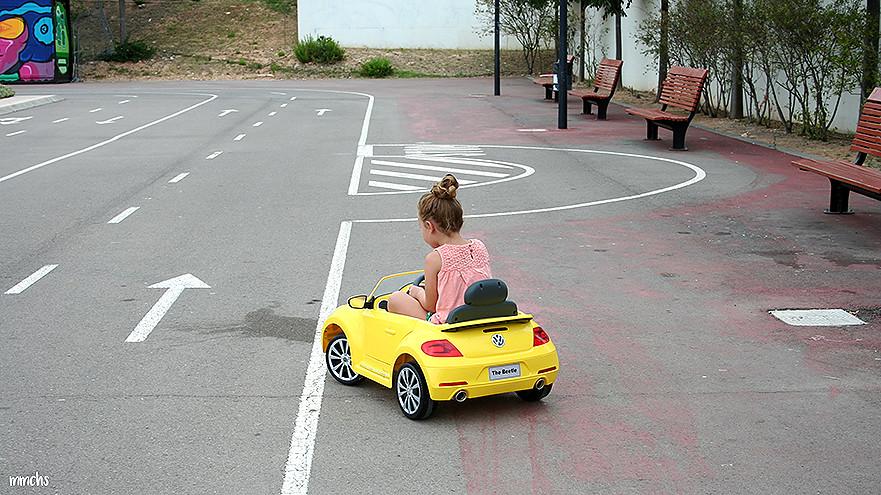 circuito para montar en bici del parque central de Paterna