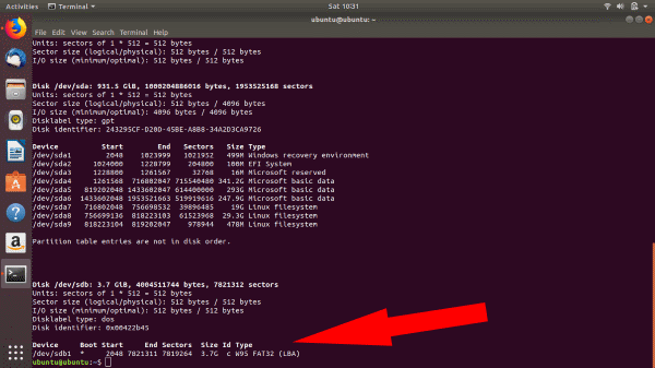 Ubuntu-fdisk-command-2