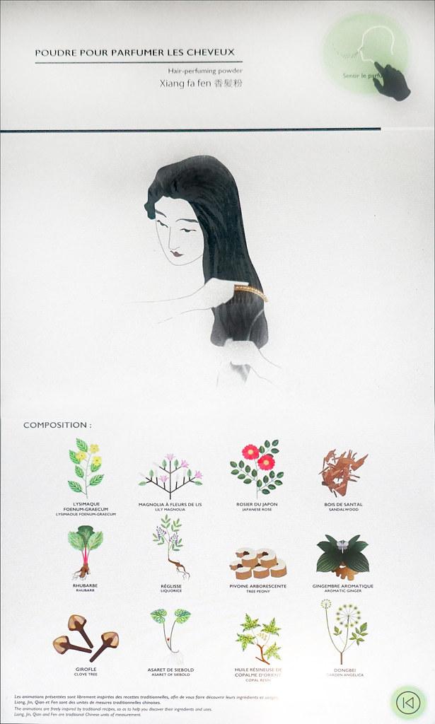 poudre pour parfumer les cheveux mus e cernuschi paris flickr. Black Bedroom Furniture Sets. Home Design Ideas