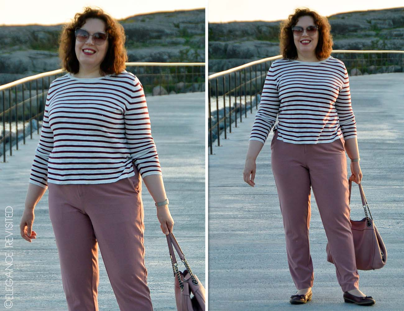 How to wear Breton stripes over 50