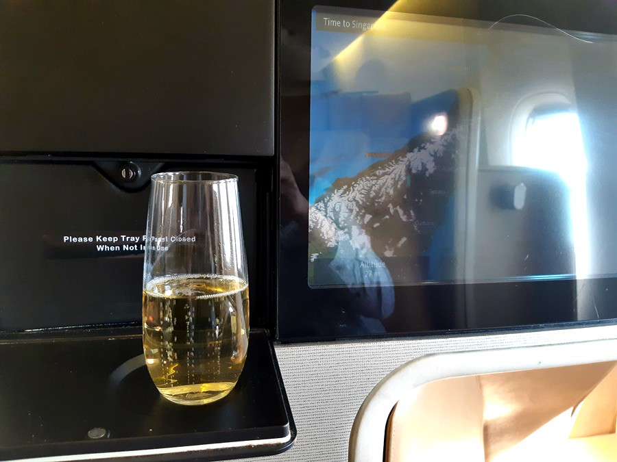 Review Of Singapore Airlines Flight From Christchurch To