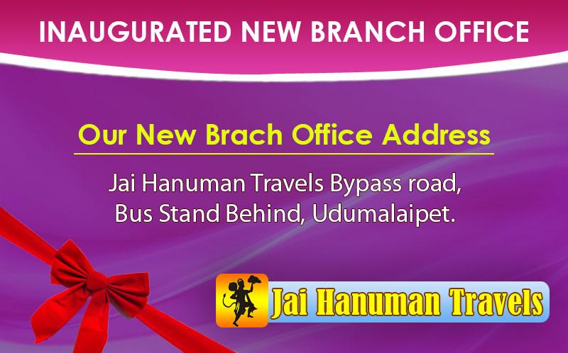 Jai Hanuman Travels-Responsive PopUp  Banner