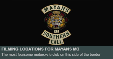 Mayans Filming Locations