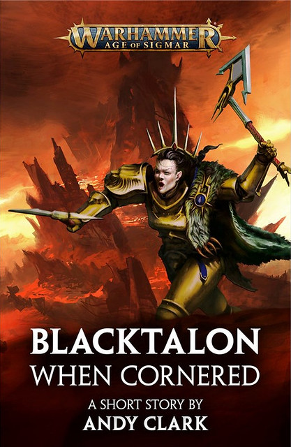 «Чёрный Коготь: Когда загнан в угол» | Blacktalon: When Cornered by Andy Clark