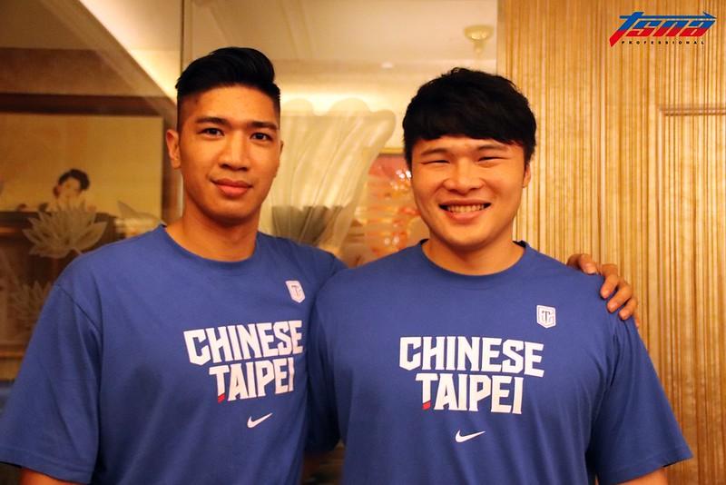 周柏臣(左)、陳冠全(右)。(林志儒/攝)