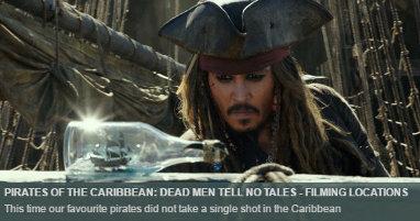 Dónde se rodó Piratas del Caribe La Venganza de Salazar