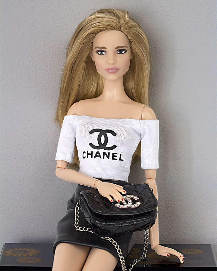 Barbie Chanel clothes