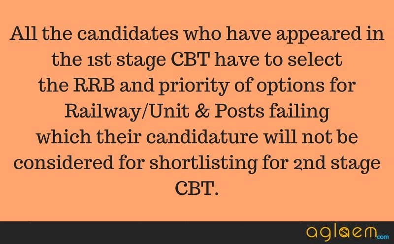 RRB wise Post Preference started for ALP & Technicians; Know how to choose the Railway/Unit & Posts
