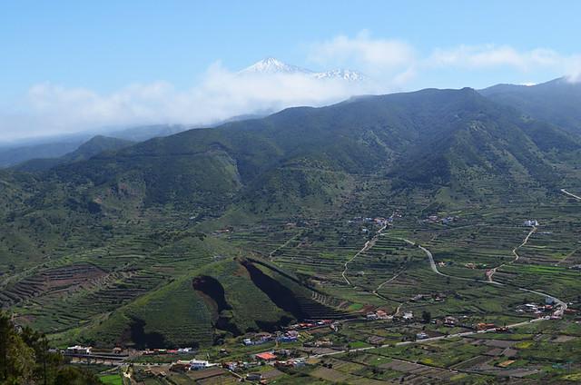 Teide and El Palmar, Teno, Tenerife