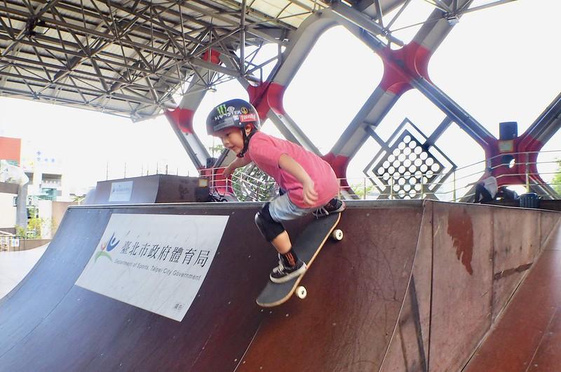 臺北國際青年極限運動大賽。(中華民國極限運動協會提供)