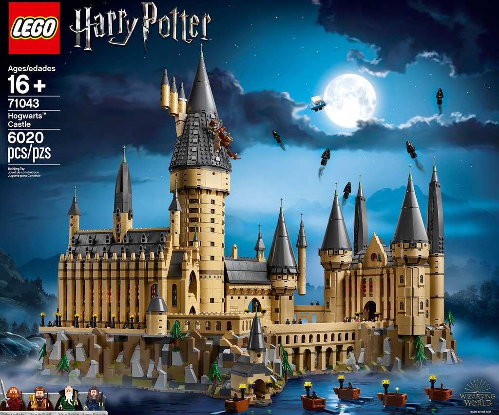LEGO Harry Potter 71043 Hogwarts Castle review | Brickset