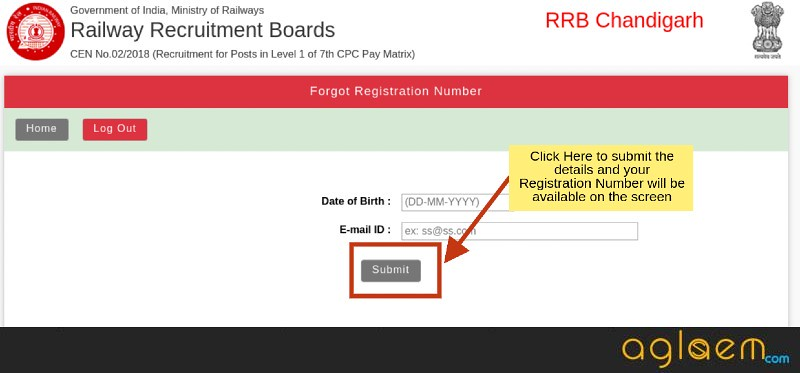 RRB Group D Login 2018 - For Exam Date, Exam Center, Admit Card, Result