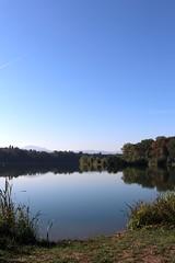 Early autumn lake VI