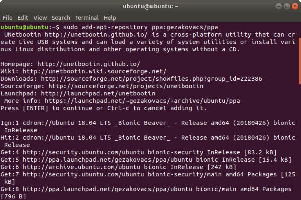 Install-UNetBootin-Ubuntu