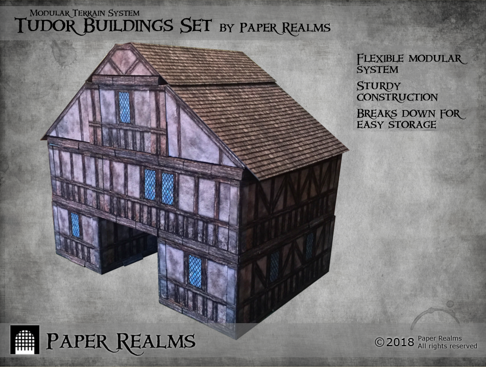 Tudor Buildings Set