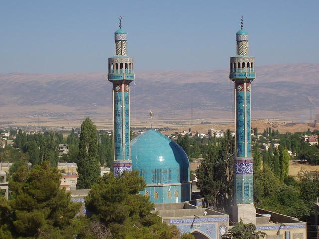 Mezquita en Baalbeck (Líbano)