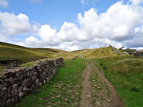 On the way to Whernside