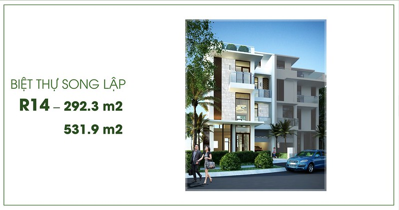 Biệt thự song lập Villa Park Passion R14
