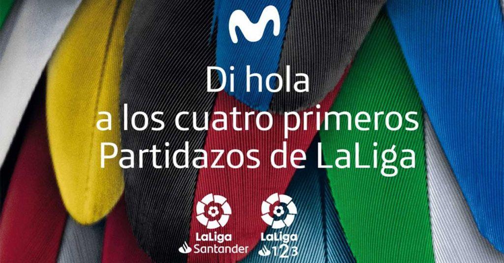 Movistar regala los Partidazos de las dos primeras jornadas de fútbol de LaLiga a todos los clientes