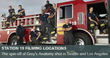 Where is station 19 filmed