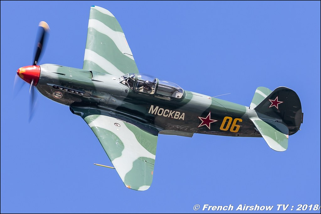 Yak 9 HB-RYA Dittinger Flugtage 2018 Canon Sigma France contemporary lens Meeting Aerien 2018