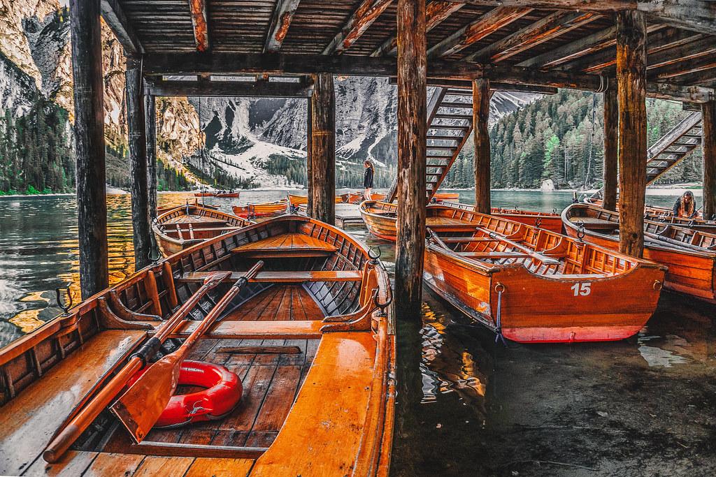 Кей с лодки